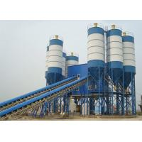 China Big Capacity Stationary Concrete Plant / Wet Mix Concrete Plant High Performance on sale