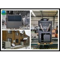 China Low Noise Cold Climate Air To Water Heat Pump , Air In Central Heating Pump 70A on sale