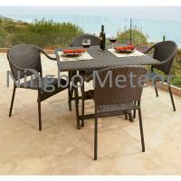 Household Outdoor Furniture Dining Set For Garden Dining Tables And Chairs