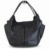 Quality Genuine Leather Bag in Fashionable Design, Measures 60 x 45cm, OEM and ODM Orders are Welcome for sale