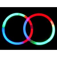 Quality Multifunctional Promotional Round 8 Inch Glow Stick Bracelet For Party, Special Events for sale