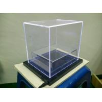 Acrylic Box With Led : Counter top led acrylic display box with white light of