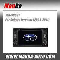 Quality 2 din hd touch screen in car dvd gps for Subaru forester (2008-2011) car gps navigation multimedia system for sale