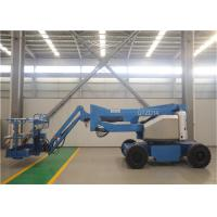 Quality Electric Articulating Boom Lift , Trailer Mounted Boom Lift 12-30m 230kg Load for sale