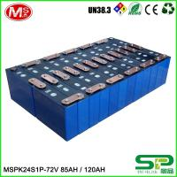 Quality Customize lifepo4 battery pack 24v 120ah for energy storage system for sale