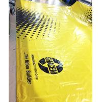 Quality 800gsm Glossy PVC Coated Tarpaulin / Inflatable Tents Plastic Tarpaulins Fabric for sale