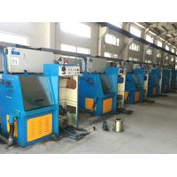 Quality Iron Cast Fine Copper Wire Drawing Machine With Flat Belts And Timing Belts Transmission for sale