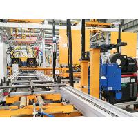 Quality Cement Pump Truck Robotic Arm Car Manufacturing / Robot Automatic Assembly Line for sale