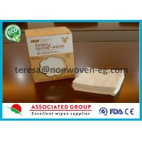 Quality Non Woven Disposable Dry Wipes Unscented Highly Absorbent Airlaid White Color for sale