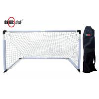 China Lightweight PP Childrens Football Net , Weather Resistant Portable Soccer Goals on sale
