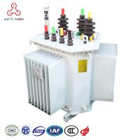 China energy saving High Efficiency Dyn11 oil immersed distribution with stable operation 30kva to 3150kva 6kv to 35kv on sale
