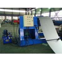 Quality Hydraulic Decoiler Coil Slitting Machine For Color Steel 2 Rubber Stations for sale