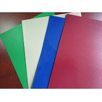 Quality Embossed Pre Painted Aluminium Sheet Precoating Multi Colors AA1100/8011/3003 for sale