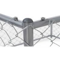 Quality Removable Temporary Dog Fence Outdoor Dog Barrier For Yard Anti Impact for sale