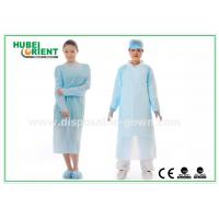 Quality CPE Plastic Disposable Protective Gowns , Surgeon Medical Patient Gowns for sale