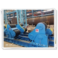 Buy cheap Rubber Wheel Heavy SAR Rotators 300T Bolt Adjustable Self Aligned Welding from wholesalers