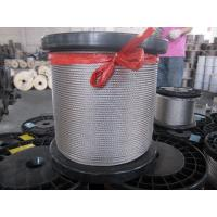 Quality 304 4.5mm 7 x 7, 1 * 7, 3 * 3 stainless steel wire rope specifications DIN, ISO, ASTM for sale