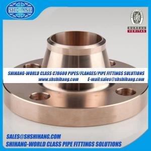 copper nickel UNS C70600 CUNI 9010 flange Solid Welding Neck Flange-EEMUA 145