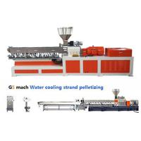 Quality Electrical Control  PP ABS Double Screw Extruder Water Strand Pelletizing Line for sale