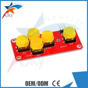 China Module For Arduino Analog AD 5-Key Keyboard Module , Electronic Building Block on sale