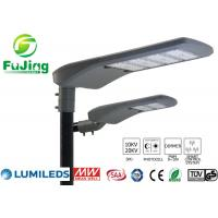 Quality Hollow Out Structure Led Parking Lot Light Fixtures 100w For Residential Roads for sale