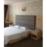 Buy Environment Luxury Hotel Furniture Sets King Size Headboard / Bedside Tables at wholesale prices