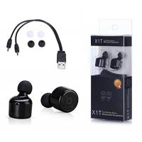 China Noise Cancellation Technology Bluetooth Headset Mini Invisible Wireless Input Biaural Stereo 4.1 on sale