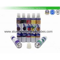 Quality Hot Stamping Aluminum Paint Tubes 85mm Length 5ml - 150ml Volume Offset Printing for sale