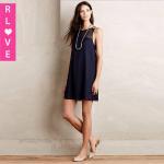 Quality 2015 winter new fashion net yarn stitching loose A-line dress OL sexy dress for sale