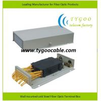Buy cheap GPZ-48A-FC12 Fiber Optic Terminal Box cold rolled steel sheet for FC adapters from wholesalers