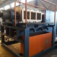 China Small Recycle Waste Paper Pulp Forming Egg Tray Making Machine on sale