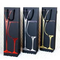 China Customize Paper Wine Bags on sale