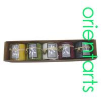 Buy cheap 2 Inch Round Feng Shui Five Elements Candle Gift Set from