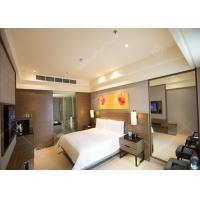 Quality Elegant Five Star Luxury Hotel Bedroom Funiture Set With Dark Veneer For Sale for sale