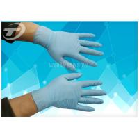 Quality Surgical Powder Free Latex Gloves , High Tensile Strength Nitrile Medical Gloves for sale