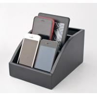 Quality Personalized Wooden Docking Station For Cell Phones With Hinged Rear Door for sale