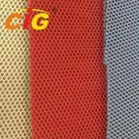 Quality Non - Woven / Knitting Backing Spacer 100% Polyester Mesh Fabric For Cover for sale