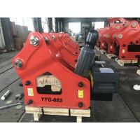 China 20 Tons Class Hydraulic Rock Breaker With 135mm Chisel 1 Year Warranty on sale