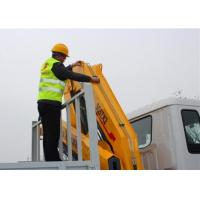 Buy High Quality Construction Knuckle Boom Truck Mounted Crane , 5T Truck Loader at wholesale prices