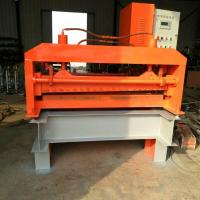 Quality PLC Control Steel Straightening Machine , 13 Rollers Plate Leveling Machine for sale