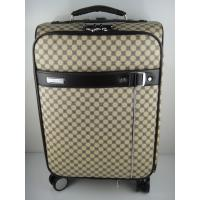Buy cheap spinner nylon travel trolley luggage 4 wheels customized pc