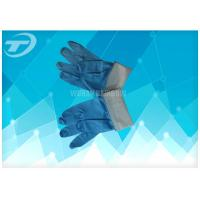 Quality Various Colors Disposable Vinyl Gloves , Non - Sterile Medical Latex Gloves for sale