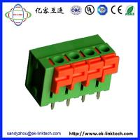 Quality F51-01-5.0 Pitch 5.0mm Screwless/Spring Clamp PCB Terminal Blocks connector for sale