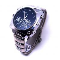 China 1080P Full HD IR Night Vision Voice Activated Watch Waterproof PC Small Hidden Spy Cameras on sale