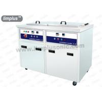 Quality 130 Liter 1800w Dual Slot Stainless Steel Ultrasonic Cleaner Machine Dring Tank SUS316L for sale