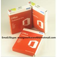 Buy 32 / 64 Bit Office 2016 Pro Plus Retail For Global Area Full Functions at wholesale prices