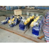 Quality 5T Bolt Conventional Pipe Welding Rotator Fixed Type With PU Wheels for sale