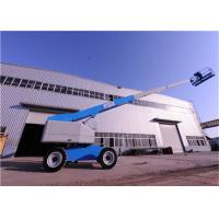 Quality Diesel Engine Powered Telescopic Boom Lift JHC Aerial Vehicles for sale