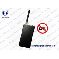 Quality Handheld Bluetooth Device To Block Wifi Signal 2400 - 2500MHz For Spy Video Camera for sale