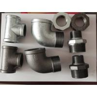 Quality Galvernized malleable iron screw pipe fitting BS standard for sale